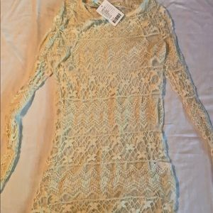 Urban Outfitters Lace Tunic Top - NWT!